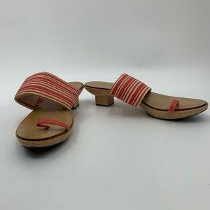 KATE SPADE qooden sole sandals
